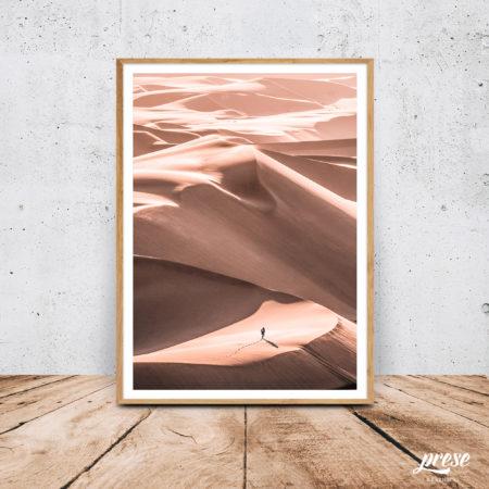 ナミビア砂漠、砂丘ポスター