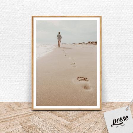 砂浜 ビーチ ポスター