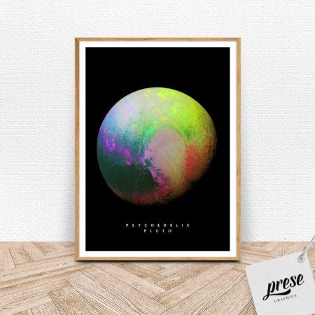 冥王星 プルートポスター
