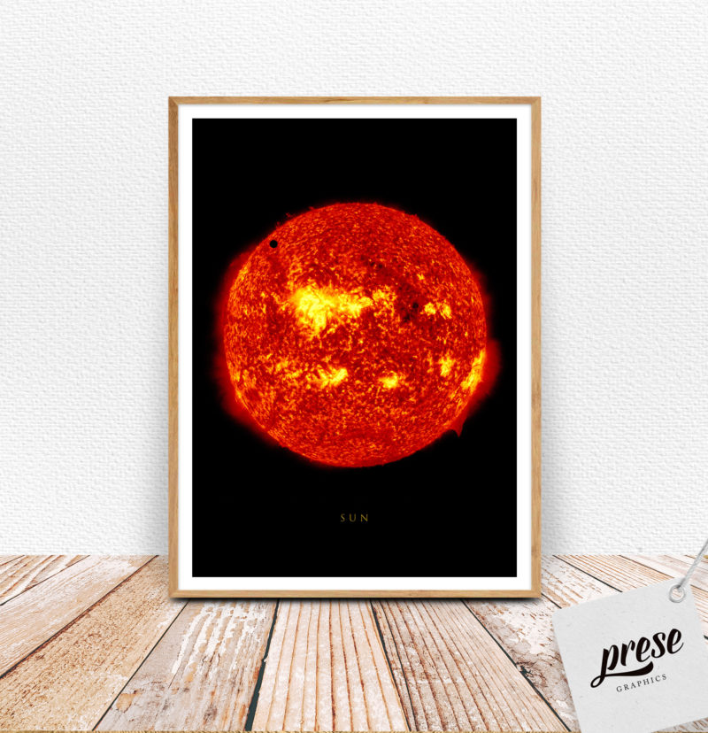 太陽 SUN サン ポスター