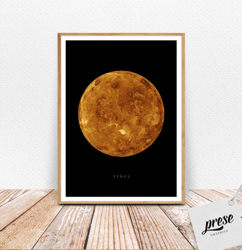 金星 ビーナス ポスター
