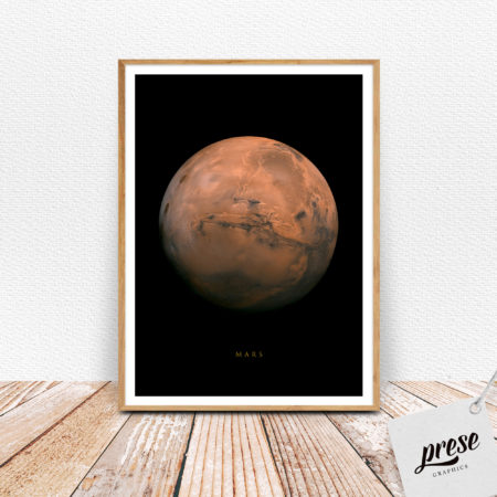 火星 マーズ ポスター