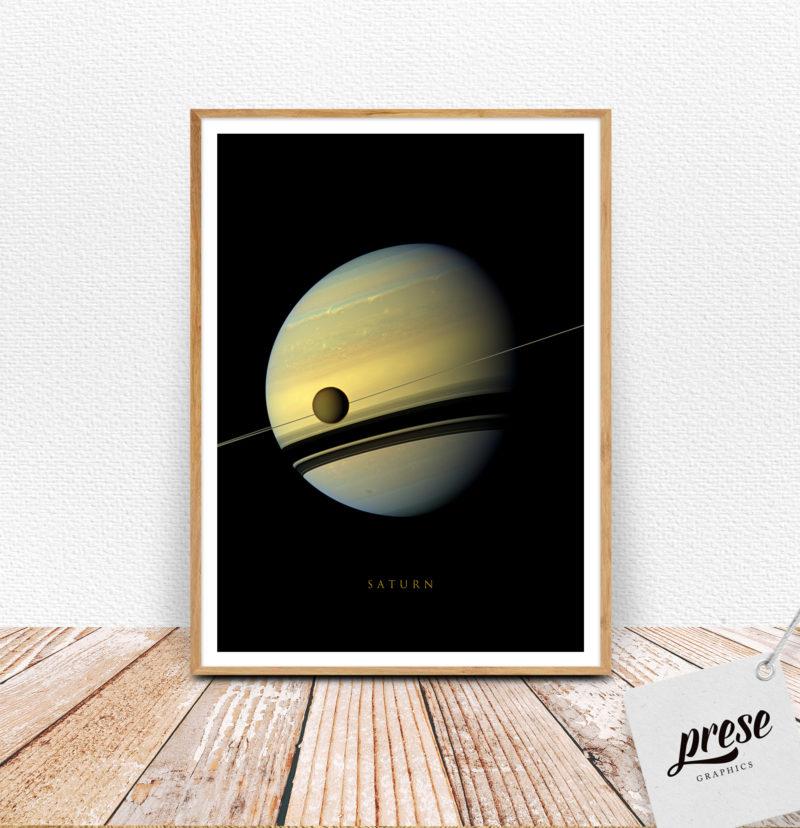 土星 サターン ポスター