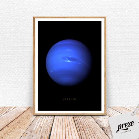 海王星 ネプチューン ポスター