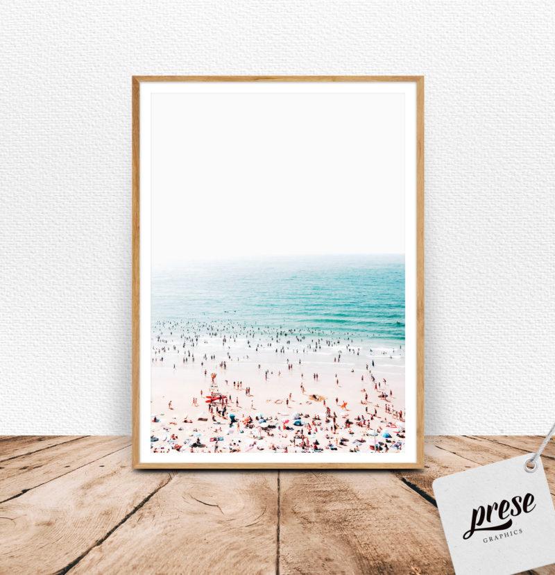 おしゃれ 海水浴ポスター