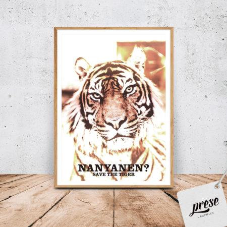 虎 タイガー ポスター