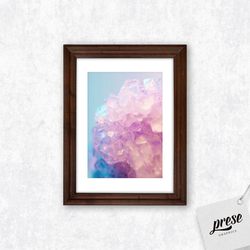ピンク クリスタル ポスター
