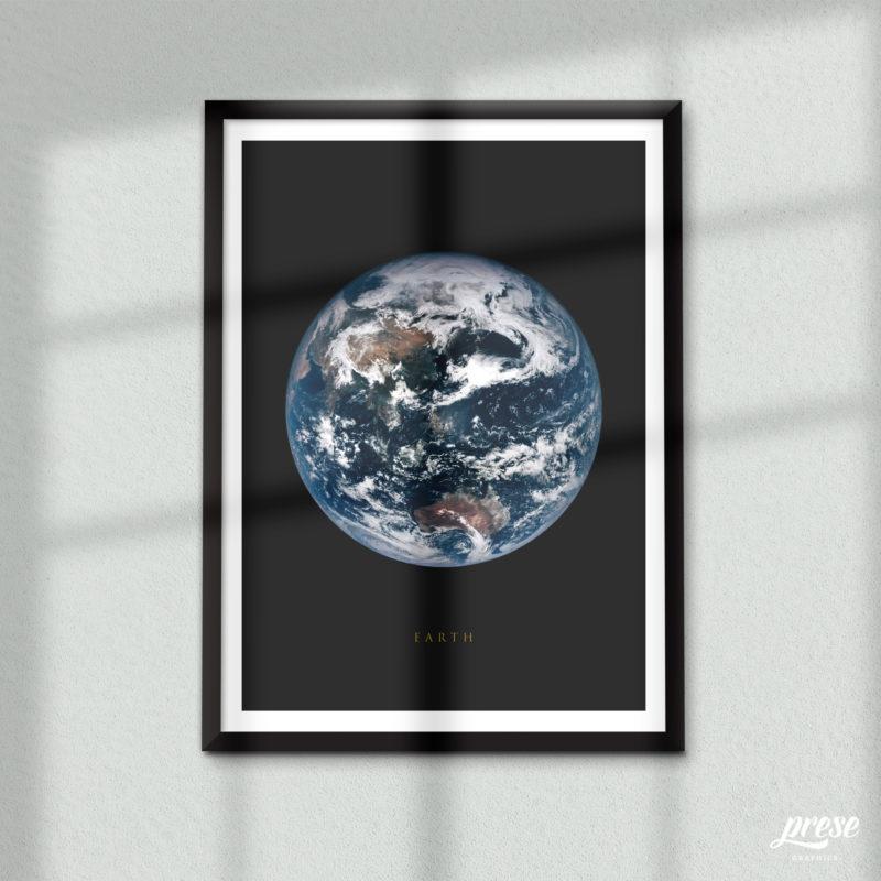 地球 アース ポスター