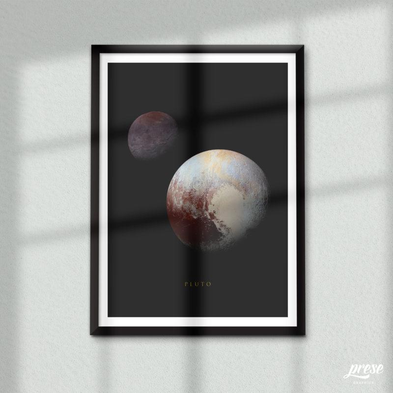 冥王星 プルート ポスター