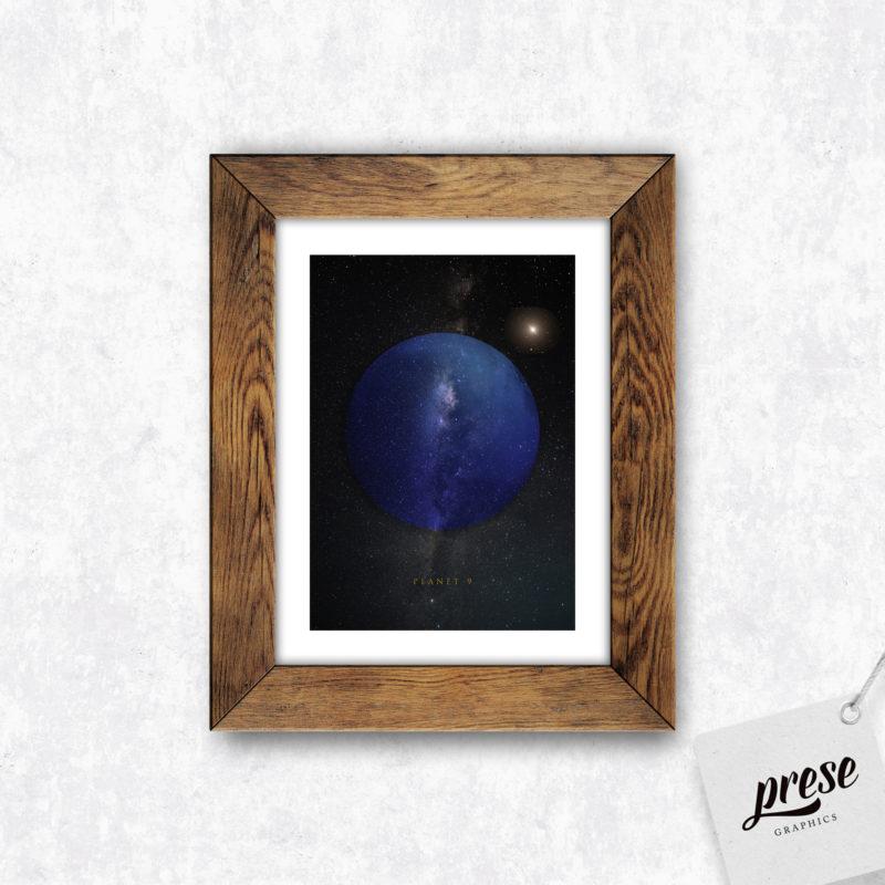 惑星X プラネット・ナイン ポスター