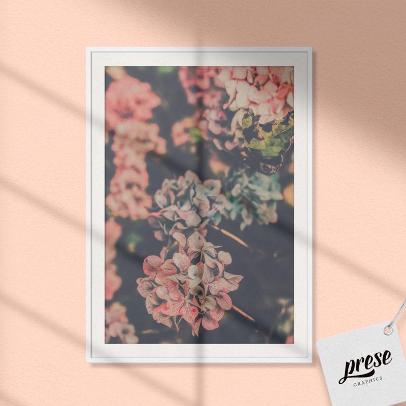 紫陽花 ポスター