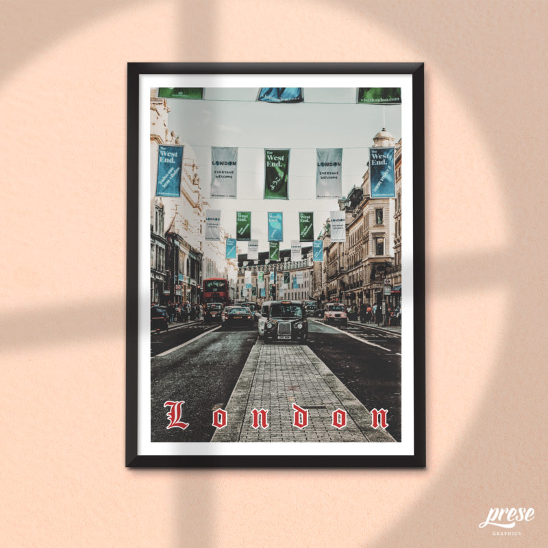 リージェント・ストリート ポスター