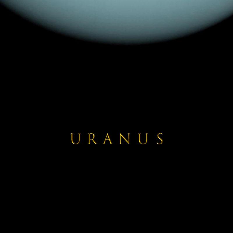 天王星 ウラヌス ポスター