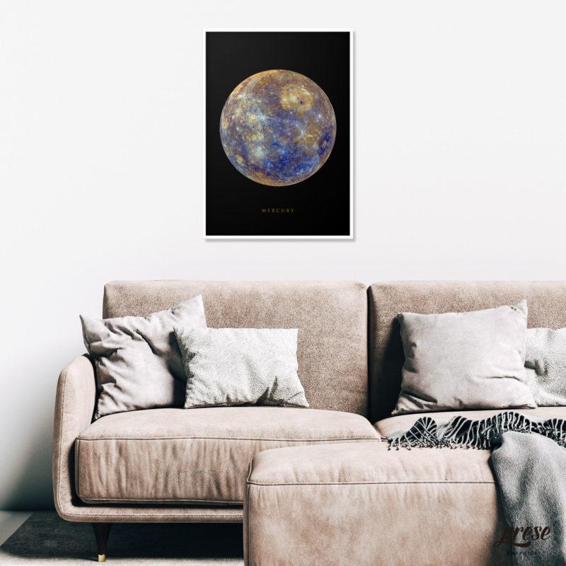 水星 マーキュリー ポスター