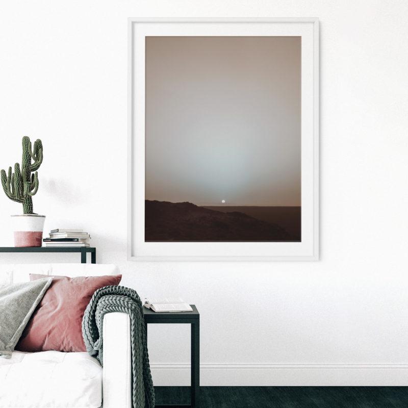 火星の夕日